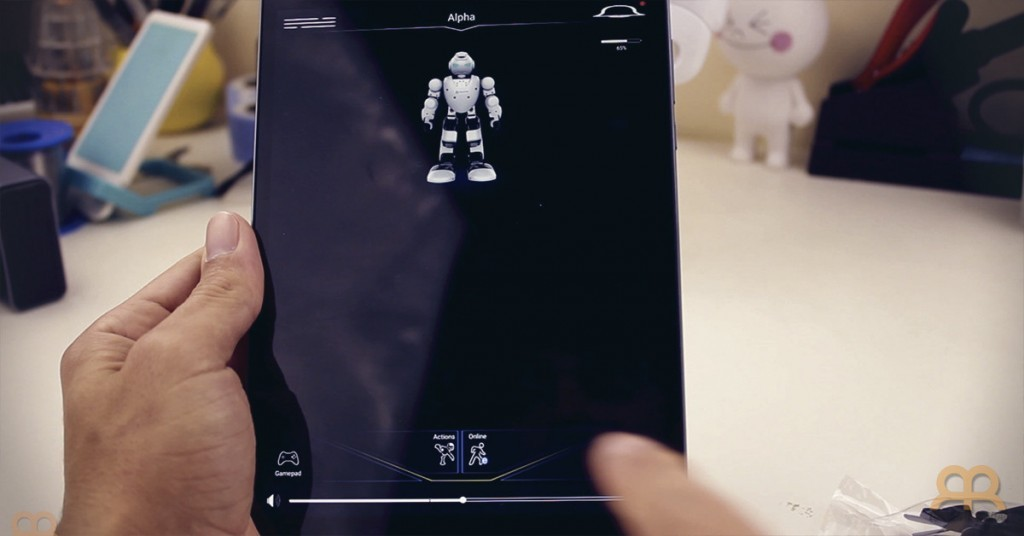 App Androide Robot Alpha 1