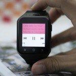 Smartwatch ZGPAX S8 reproducción de música.
