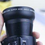 Gran angular del lente WiFi Amkov OX5