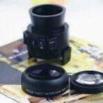 Lente Amkov OX5 con lentes extras