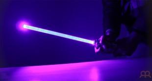 Espada láser estilo Guerra de las Galaxias