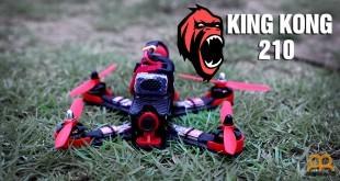 KingKong 210 dron de carreras