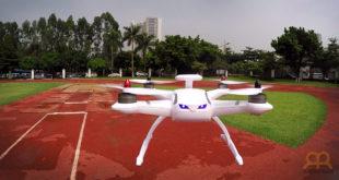 Dron CG035 volando