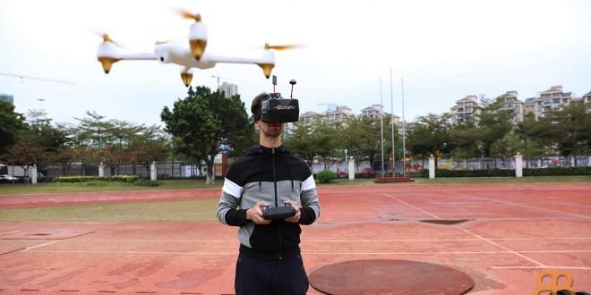 Volando dron estilo FPV
