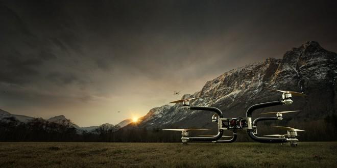 Dron octacóptero Griff 300