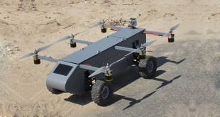 Dron Pantera con ruedas
