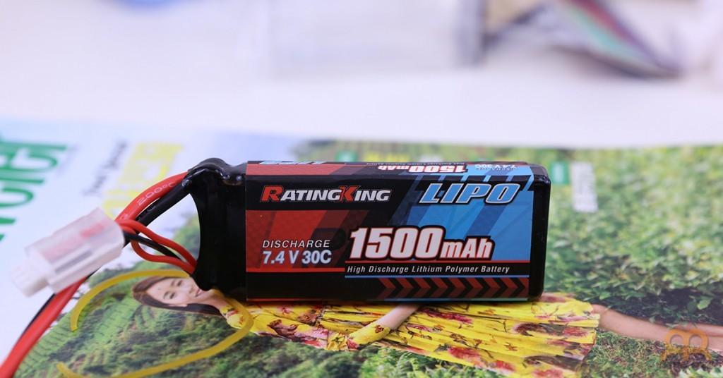 Batería LiPo 1500mah