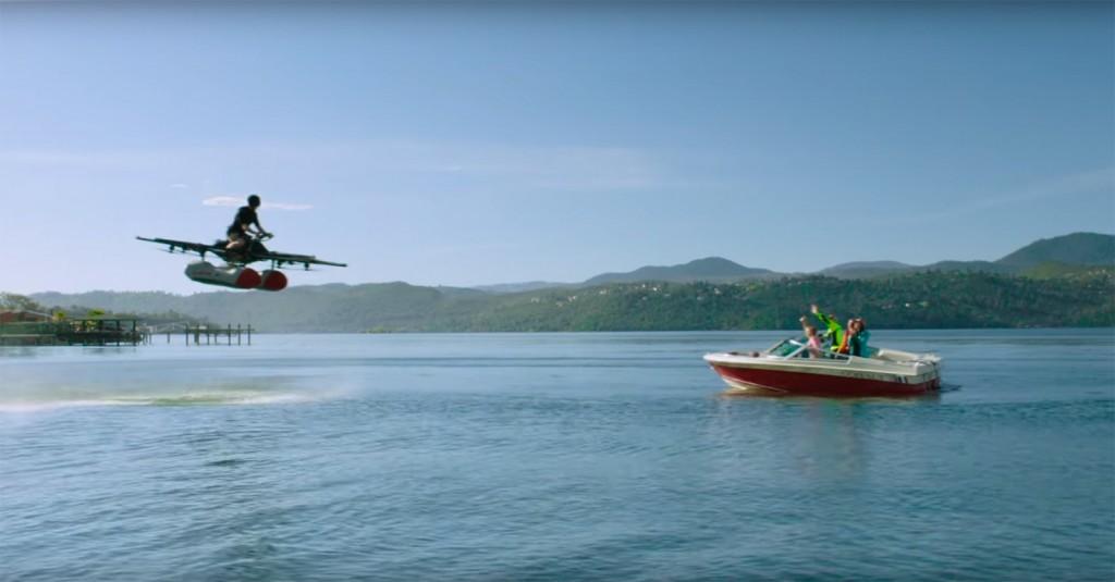 Vehículo volador tripulado