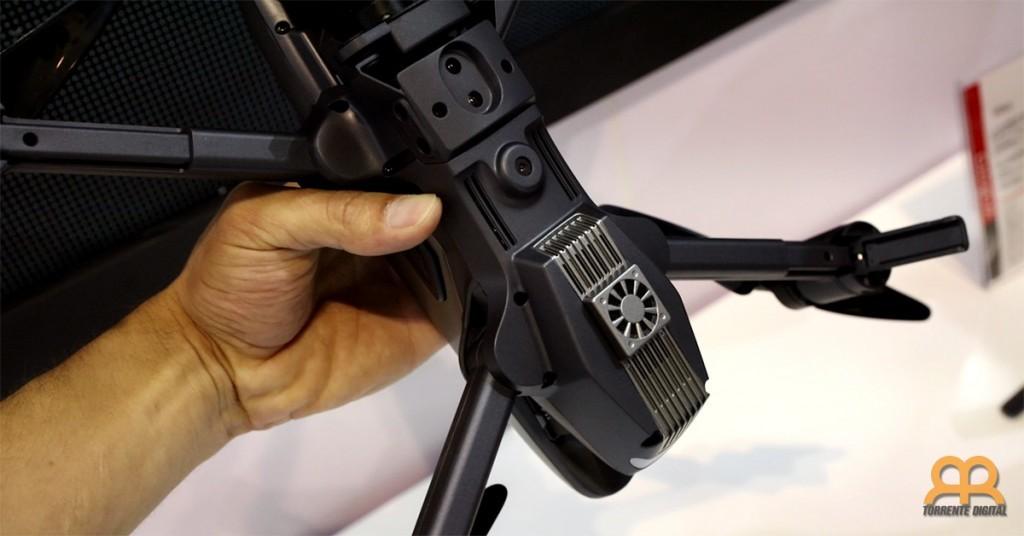 Sensores ópticos dron Walkera Vitus