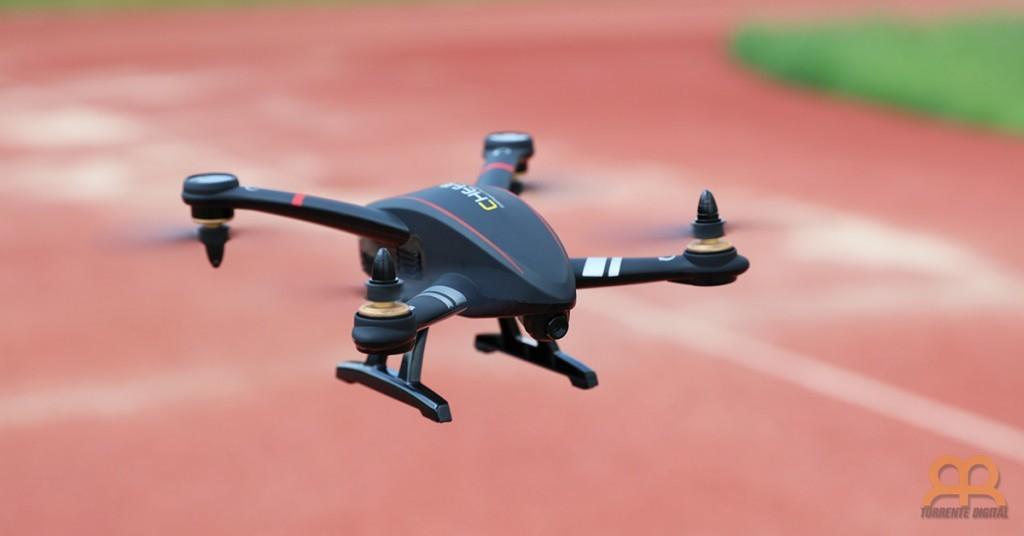 Dron Cheerson CX23 volando