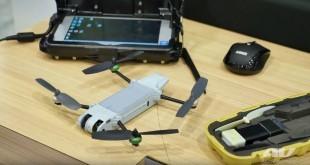 Ejemplar del mini dron Snipe
