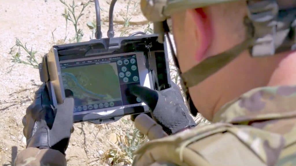 Pantalla del mini dron Snipe