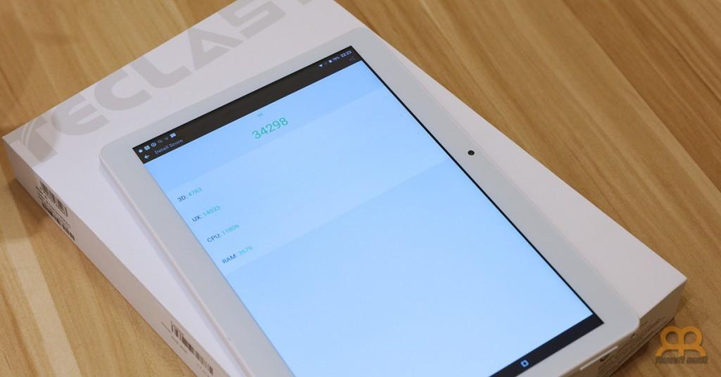Ranking tablet Teclast 98 Antutu
