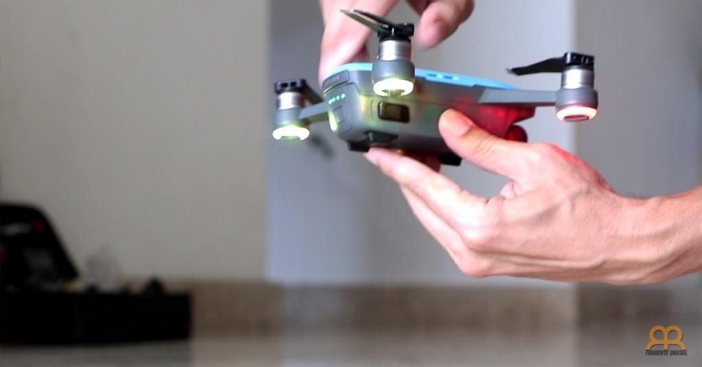 Calibrando dron DJI Spark