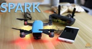 Configuración del DJI Spark