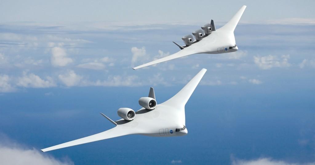 Avion prototipo de Boeing y Nasa