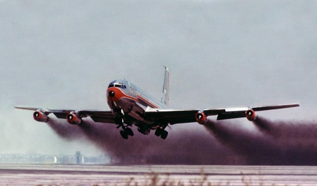 Contaminación de los aviones