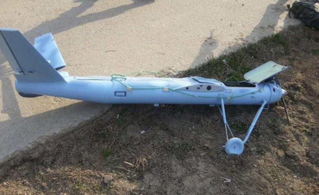 Restos de dron Coreano