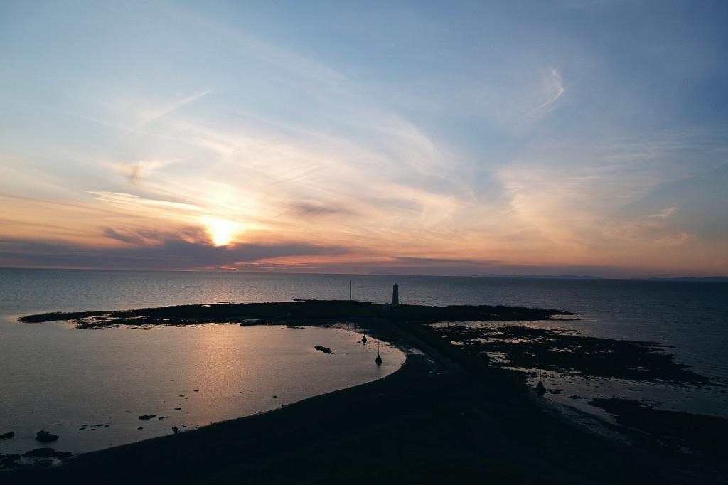 Faro de Seltjarnarnes en Islandia