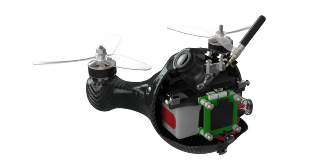 Interior del dron Nimbus