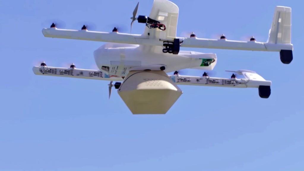 Dron de Project Wing