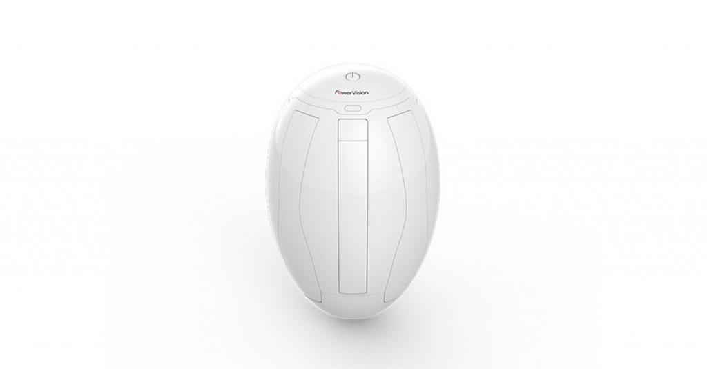 Dron PowerEgg en forma de huevo