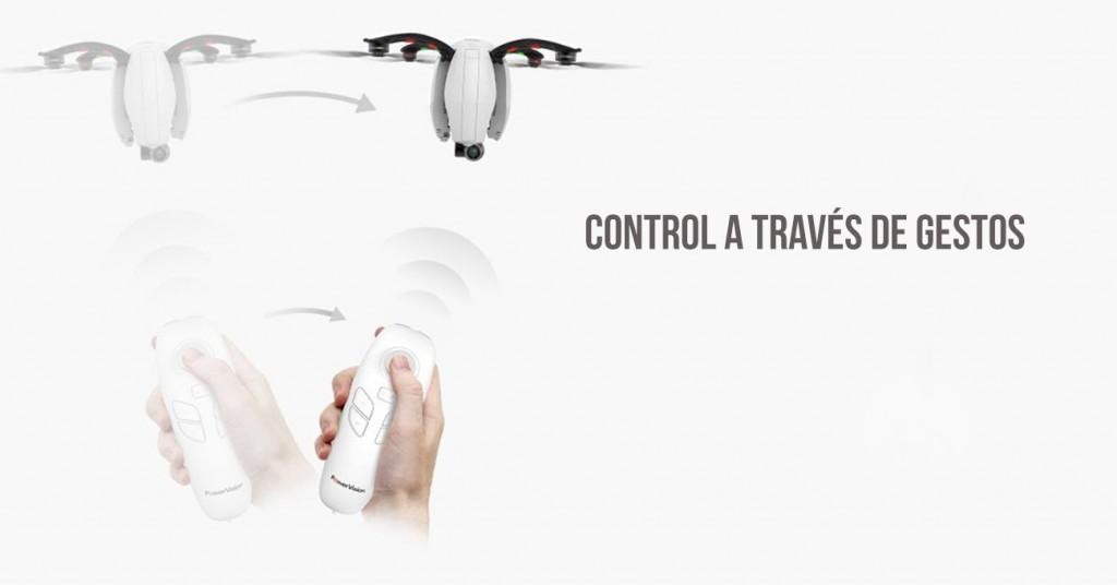 Control de dron a través de gestos