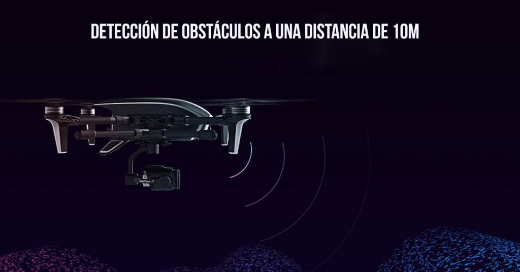 Dron con detección de obstaculos