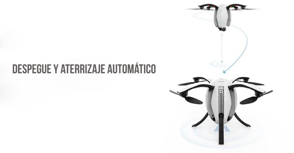 Funciones del dron PowerEgg