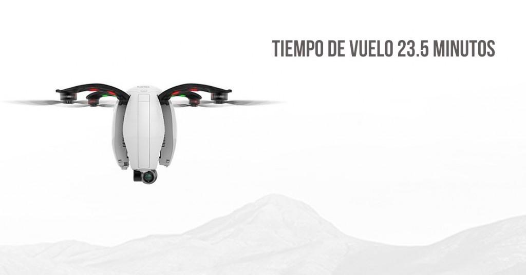 Tiempo de vuelo dron PowerEgg