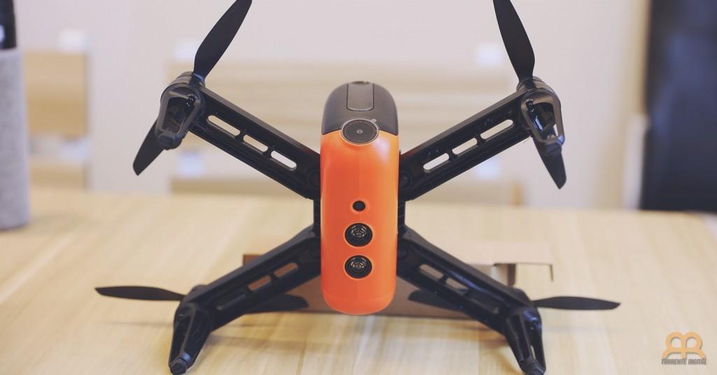 Sensores ultrasonicos y opticos dron Wingsland M5