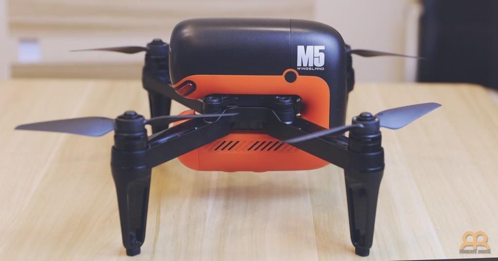 Diseno del dron Wingsland M5
